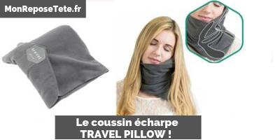 Coussin Travel Pillow, oreiller écharpe